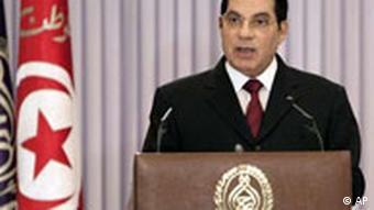 زینالعابدین بنعلی، رئیسجمهور تونس