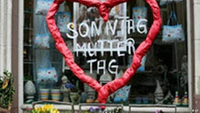 Deutschland Sonntag ist Muttertag