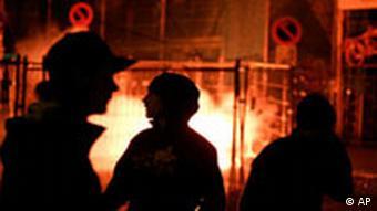 Demonstration am 9. Mai gegen die Durchsuchung von G8-Gegnern, Quelle: AP