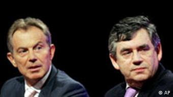 Großbritannien Tony Blair gibt Rücktritt bekannt Gordon Brown