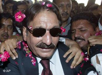 Iftikhar Chaudhry's restoration is being widely hailed in Pakistan
