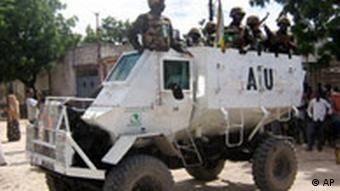Soldaten der AU in Mogadischu (Foto: ap)