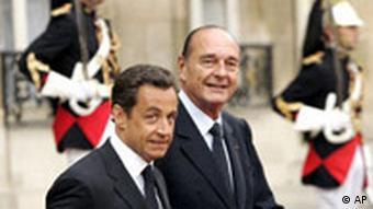 Sarkozy behält die Irak-Politik seines Vorgängers Jaques Chirac bei (Archivbild), Quelle: AP