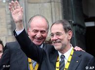 Javier Solana y Don Juan Carlos.