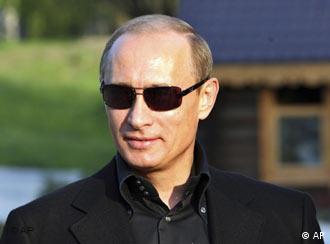 Vladimir Putin espera la llegada de la delegación de la UE.