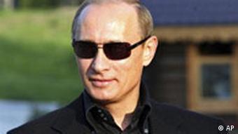Putin in his sunglasses