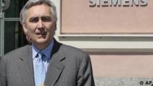 Peter Löscher neuer Siemens-Chef