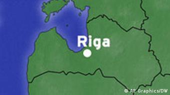 Karte Riga Lettland
