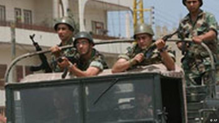 Libanesische Armee überfordert (AP)