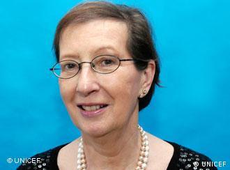 联合国儿童基金会德国分部名誉主席海德-西蒙妮斯