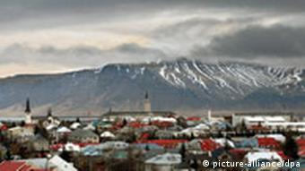 View of the city of Reykjavik