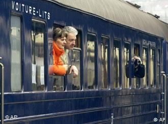 Tourists can get the Tito feeling on the Blue Train