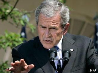 Bush un ziyareti nedeniyle sıkı güvenlik önlemleri alındı