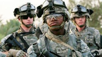 US-Soldaten im Irak, Quelle: AP