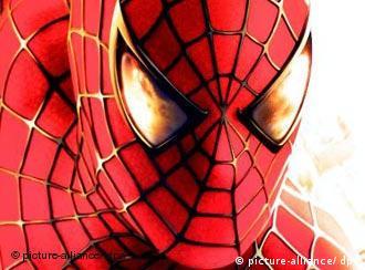 Das Gesicht von Spider-Man