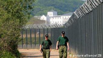 Deutschland G8 Sicherheitszaun in Heiligendamm