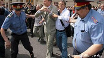 Volker Beck erneut in Moskau festgenommen