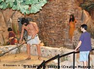 O Jardim de Éden no Museu Criacionista, EUA