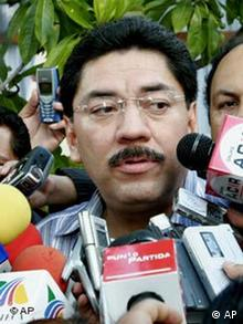 Gouverneur Ulises Ruiz von Oaxaca