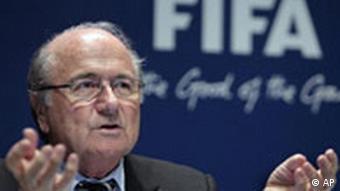 Sepp Blatter, predsjednik FIFA-e