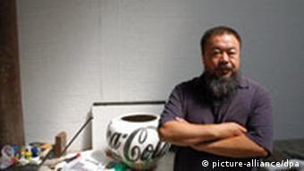 Ai Weiwei at documenta in Kassel in 2007
