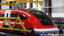 Deutschland Magnetschwebebahn Transrapid 09 nach Emsland