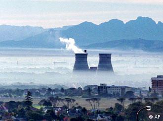 Power station in Africa