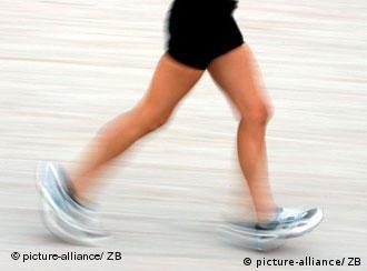 So bauen manche Stress ab: Dauerlauf am Strand