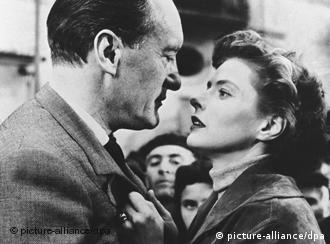 George Saunders e Ingrid Bergman, em 'Viagem à Itália', de Rossellini