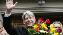 Wahle Lettland Der neue Präsident Valdis Zatlers