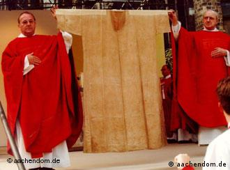 Virgin Mary's dress is a treasured relic. But is it real?