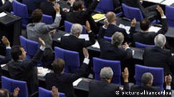 Glasovanja u Bundestagu