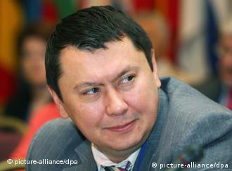 Rachat Alijew, kasachischer Medien- und Industriemagnat