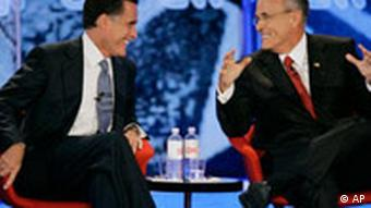 Romney and Guiliani