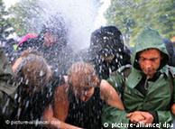 Διαδηλώσεις κατά της συνόδου G8 στο Χάιλιγκεν Νταμ στη Γερμανία: η απαγόρευση λειτουργεί