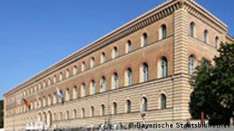 Außenansicht der Bayerischen Staatsbibliothek, Quelle: Bayerische Staatsbibliothek