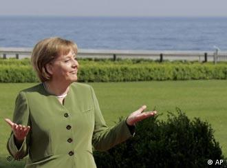 Merkel leads the way when it comes to going green