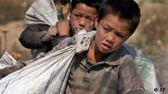 بسیاری از کودکانی که در ایران به کار گمارده میشوند، افغان هستند