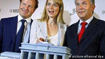 Pressekonferenz der Fashion Week Berlin mit Eva Padberg