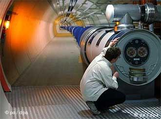 Tunel u kome je akcelerator CERN-a