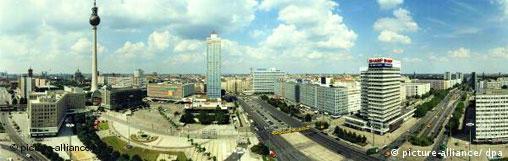 Deutschland Berlin Alexanderplatz Panoramafoto