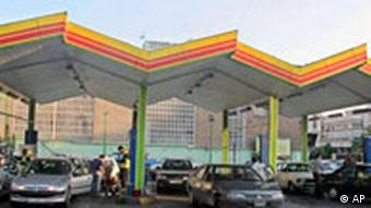 Iran Tankstelle in Teheran