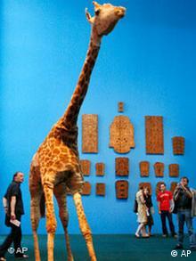 Deutschland Kunst Documenta 12 Giraffe