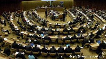 General view of the UN Human Rights Council