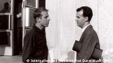 Luigi Nono und Karlheinz Stockhausen