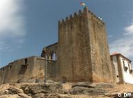 Le château de Belmonte, ville natale de Pedro Alvares Cabrals, qui découvrit le Brésil.