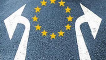 EU Symbolbild Richtungspfeile Wohin geht es?
