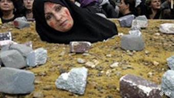 تظاهرات ایرانیان در بلژیک علیه احکام سنگسار