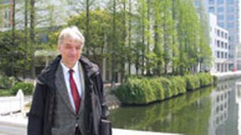 Prof. Wolfgang Kubin, ein deutscher Sinologe und Professor der Sinologie an der Universität Bonn Huadong-Shida