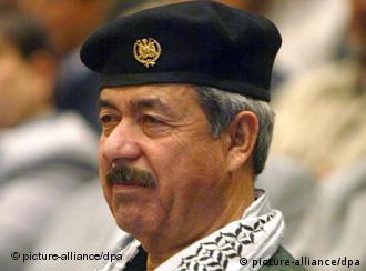 Ali Hassan el Madschid, genannt 'Chemie-Ali', auf einem Archivfoto aus dem Jahr 2002 (Foto: dpa)